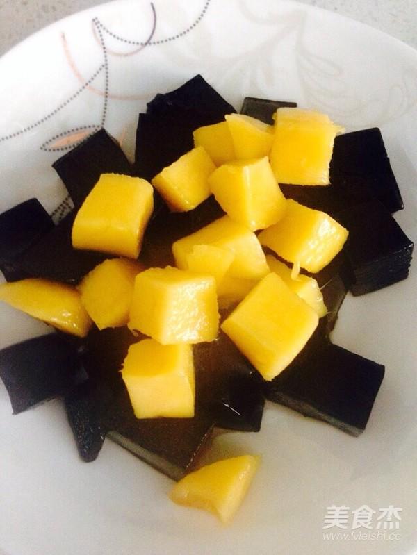 芒果黑凉粉怎么炒