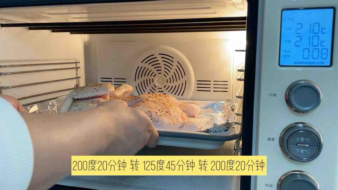 用最嫩的童子鸡 烤最想的脆皮烤鸡怎么做