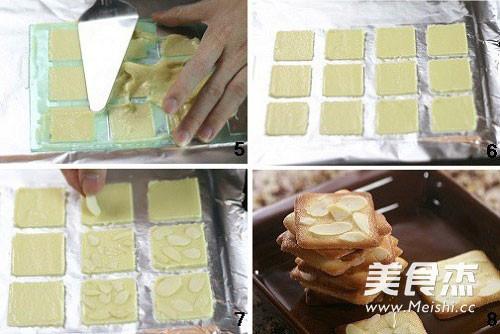 杏仁瓦片酥的做法图解