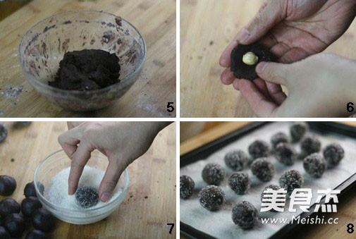 榛子巧克力球的做法图解