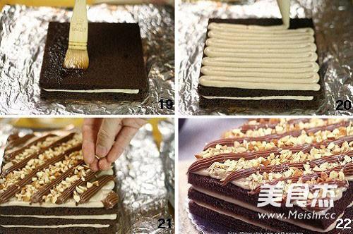 乳酪巧克力蛋糕怎么煸
