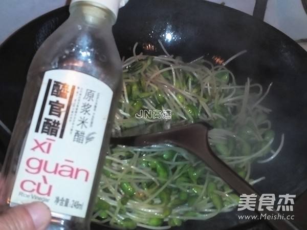 干煸青豆芽怎么吃