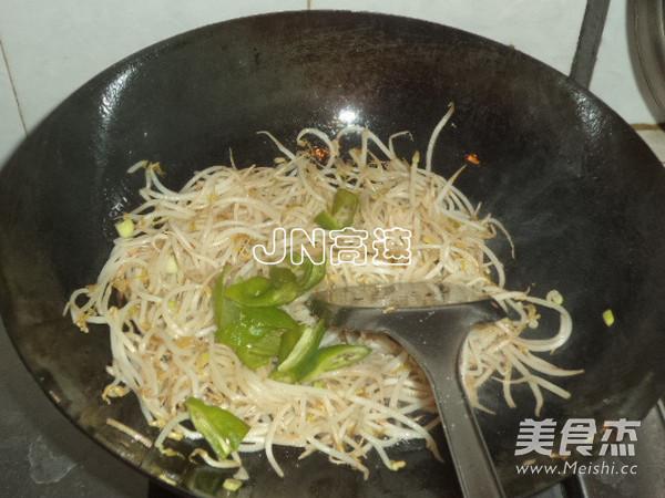 青椒绿豆芽怎么煮