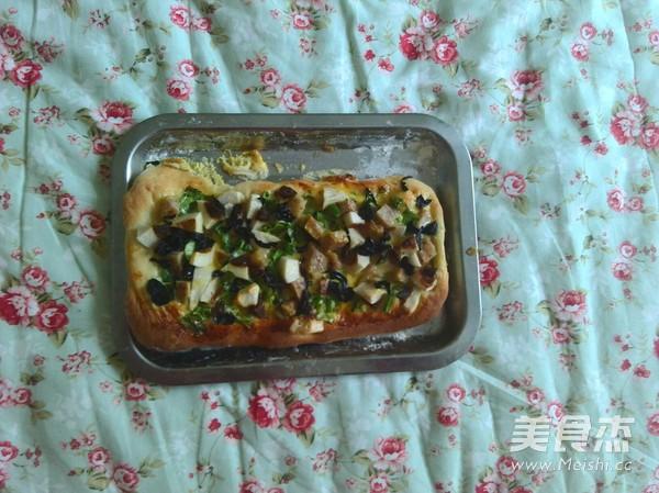 小披萨怎么吃