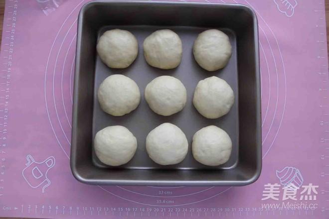 萌萌哒挤挤面包(一次性发酵)的步骤