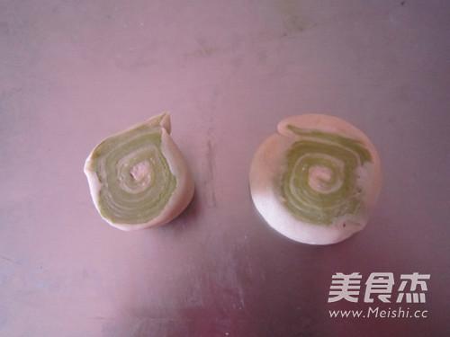 抹茶红豆酥的制作方法