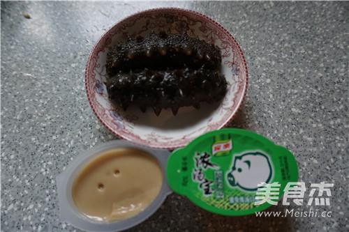 浓汤海参小米粥的做法图解