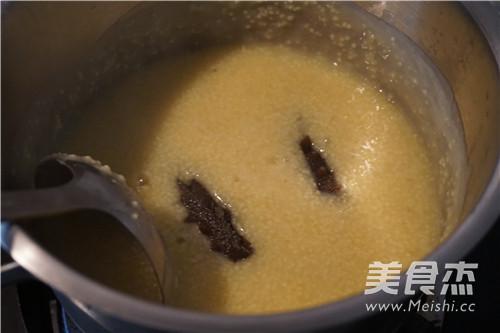 浓汤海参小米粥怎么炒