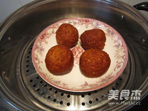 传统美食--四喜丸子怎样炒
