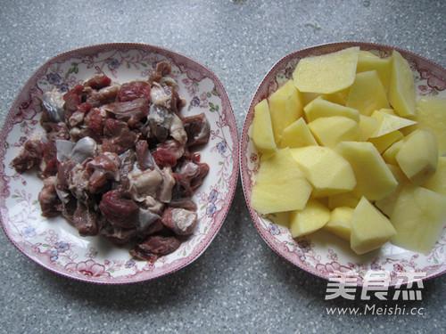 西北风味菜土豆炖羊肉的做法图解