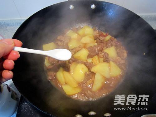 西北风味菜土豆炖羊肉怎样做