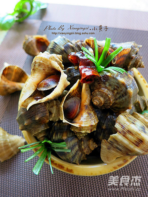 海螺 不能吃_香辣小海螺的做法_香辣小海螺怎么做_美食杰