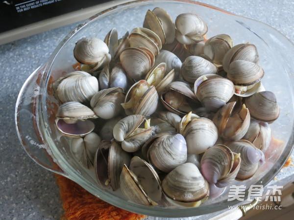 海鲜蛤蜊汤怎么炒
