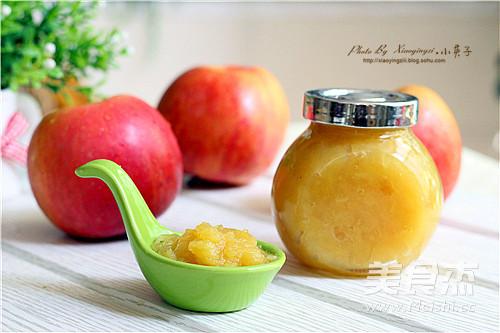 简易版苹果酱成品图