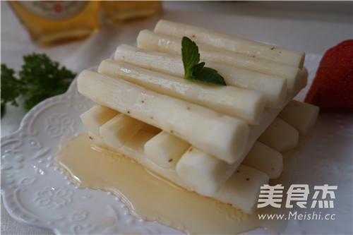 糖姜蜜汁山药怎么吃
