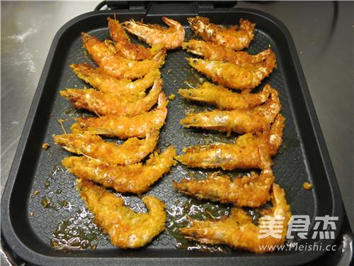 煎烤大海虾的制作