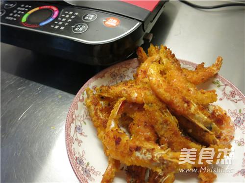 煎烤大海虾的制作方法