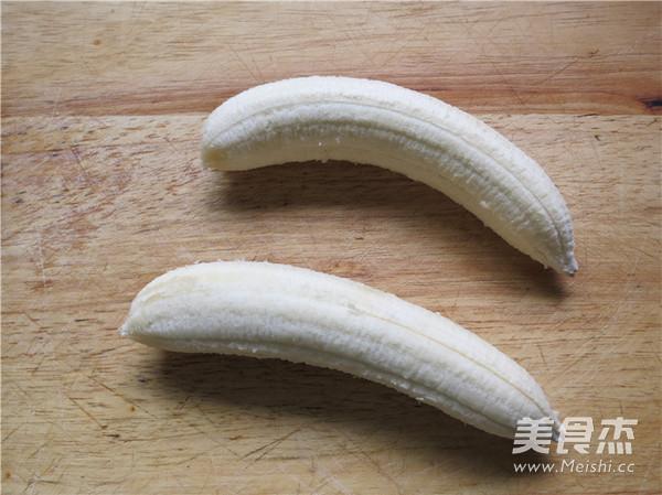香蕉冰糕的简单做法