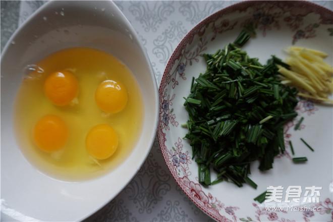 鸡蛋韭香炒银鱼的做法图解
