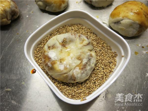 老北京麻酱烧饼的制作