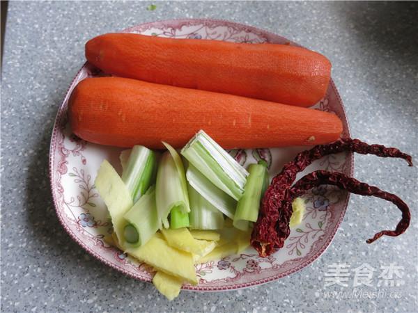 胡萝卜烧羊肉的家常做法
