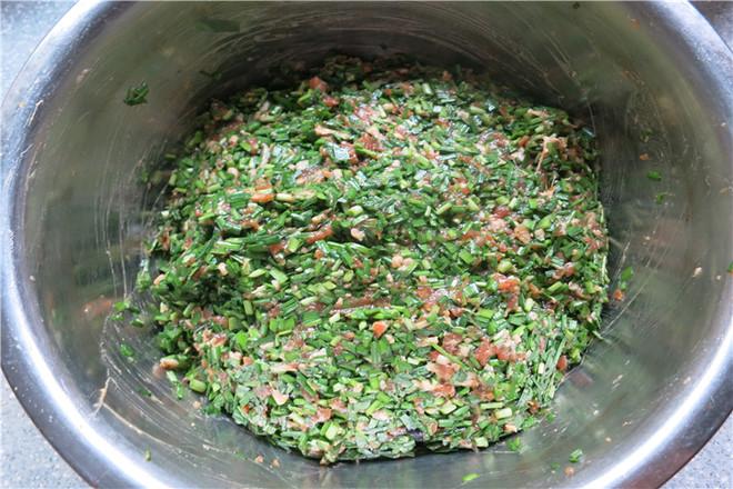 韭菜猪肉蒸包怎么煮