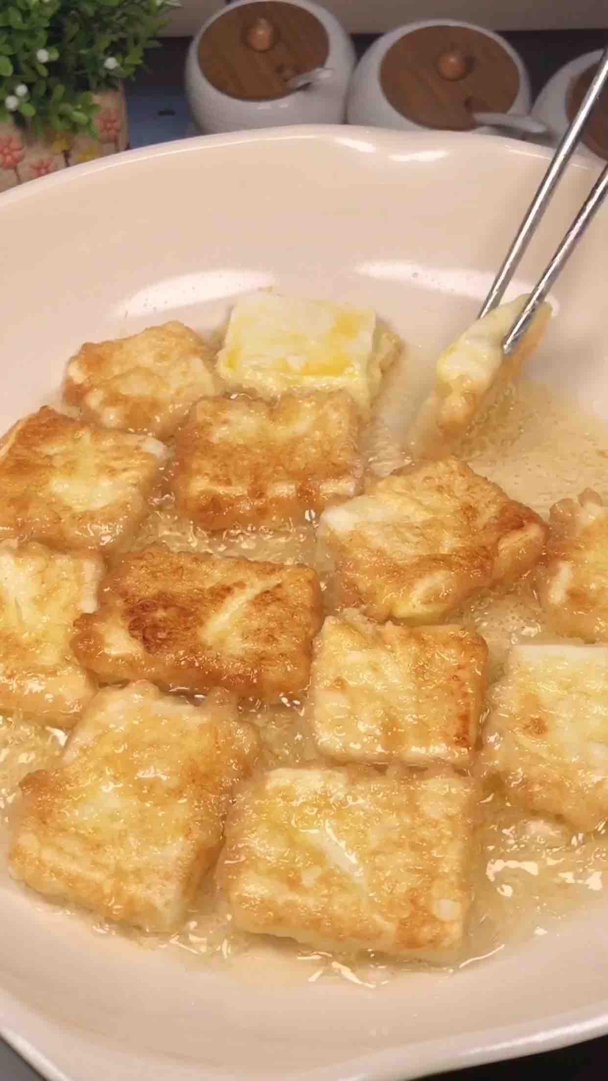 0失败的开胃小菜,香辣豆腐的简单做法