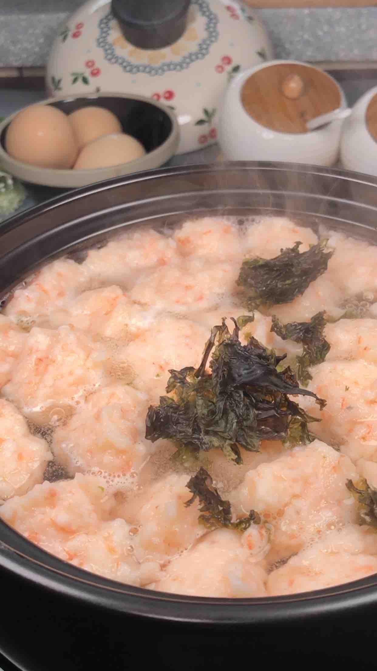 虾滑汤怎么做