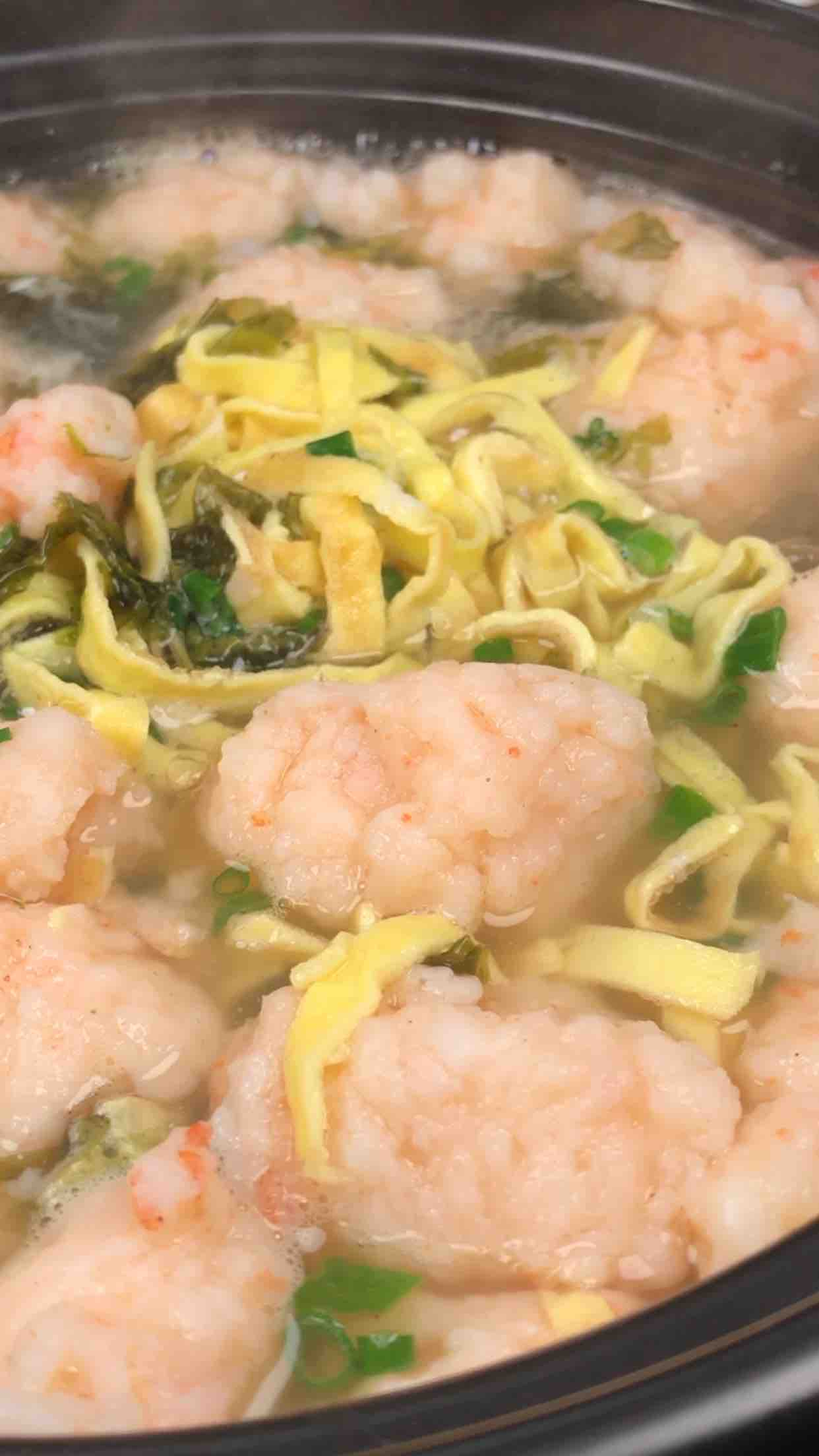 虾滑汤怎么炒