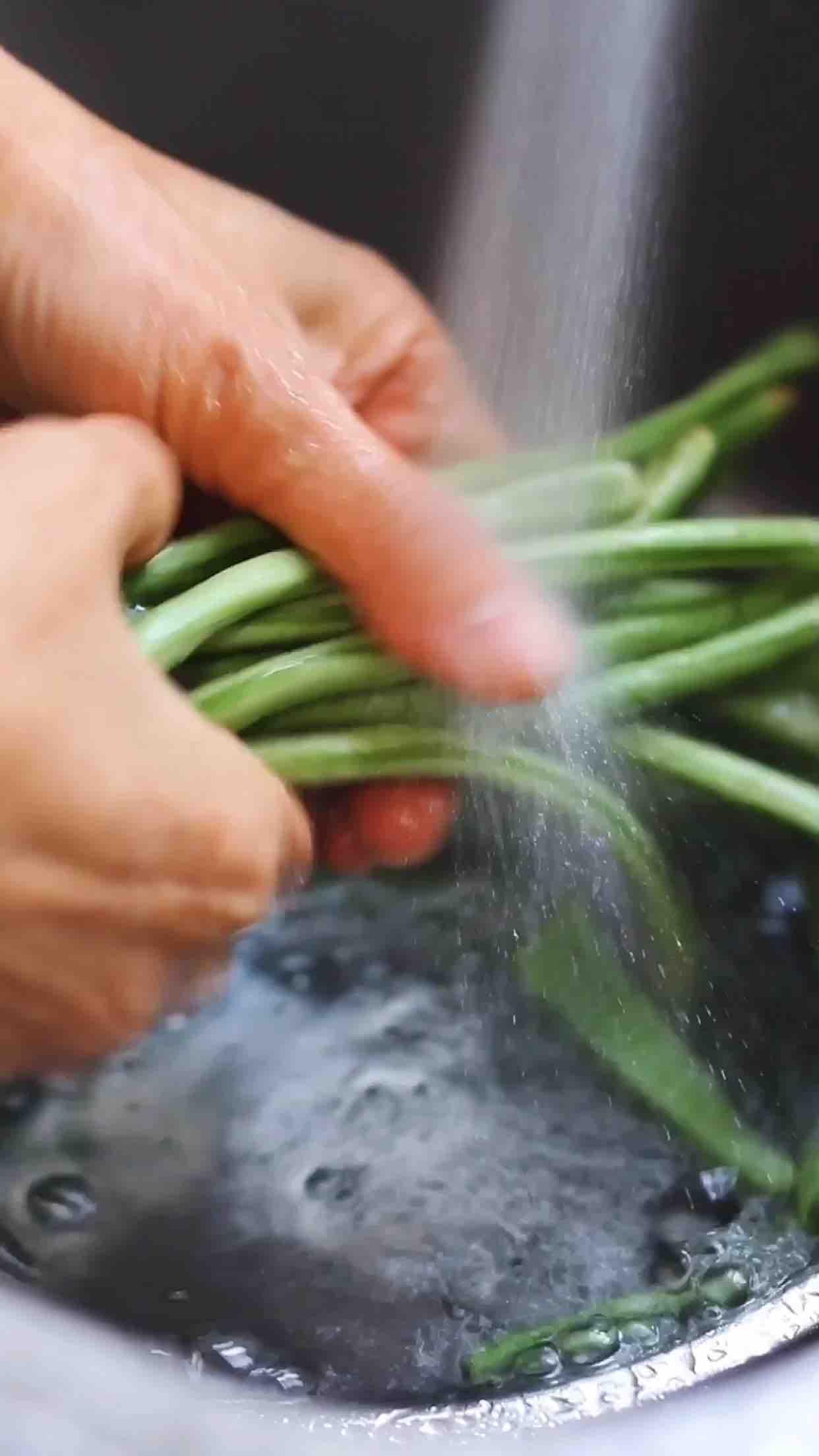 手撕豇豆的做法大全