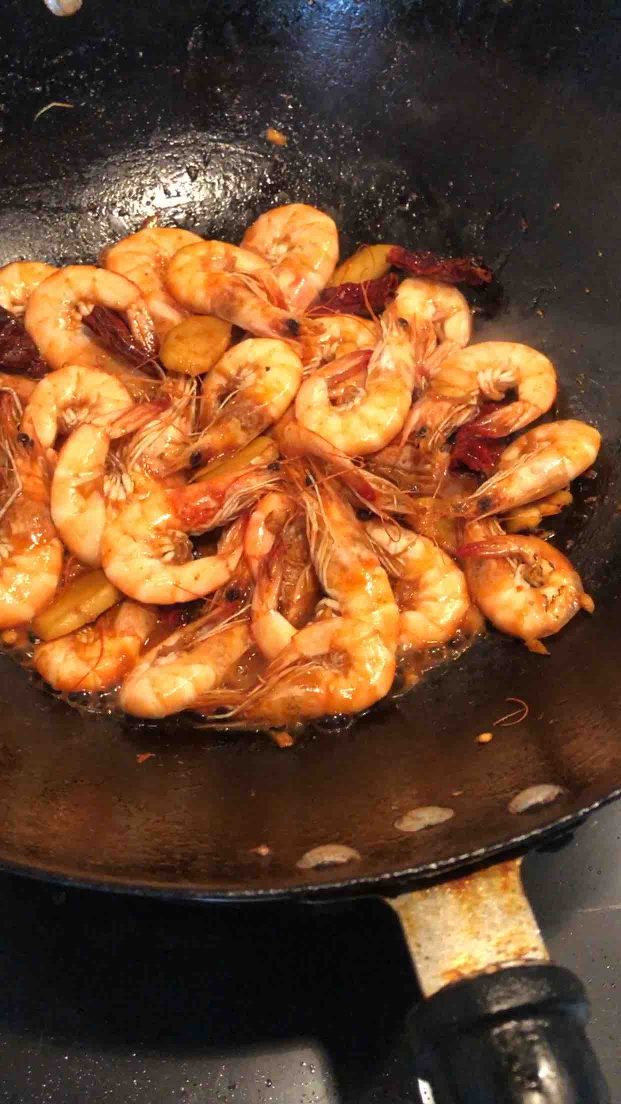 香辣海虾怎么煮