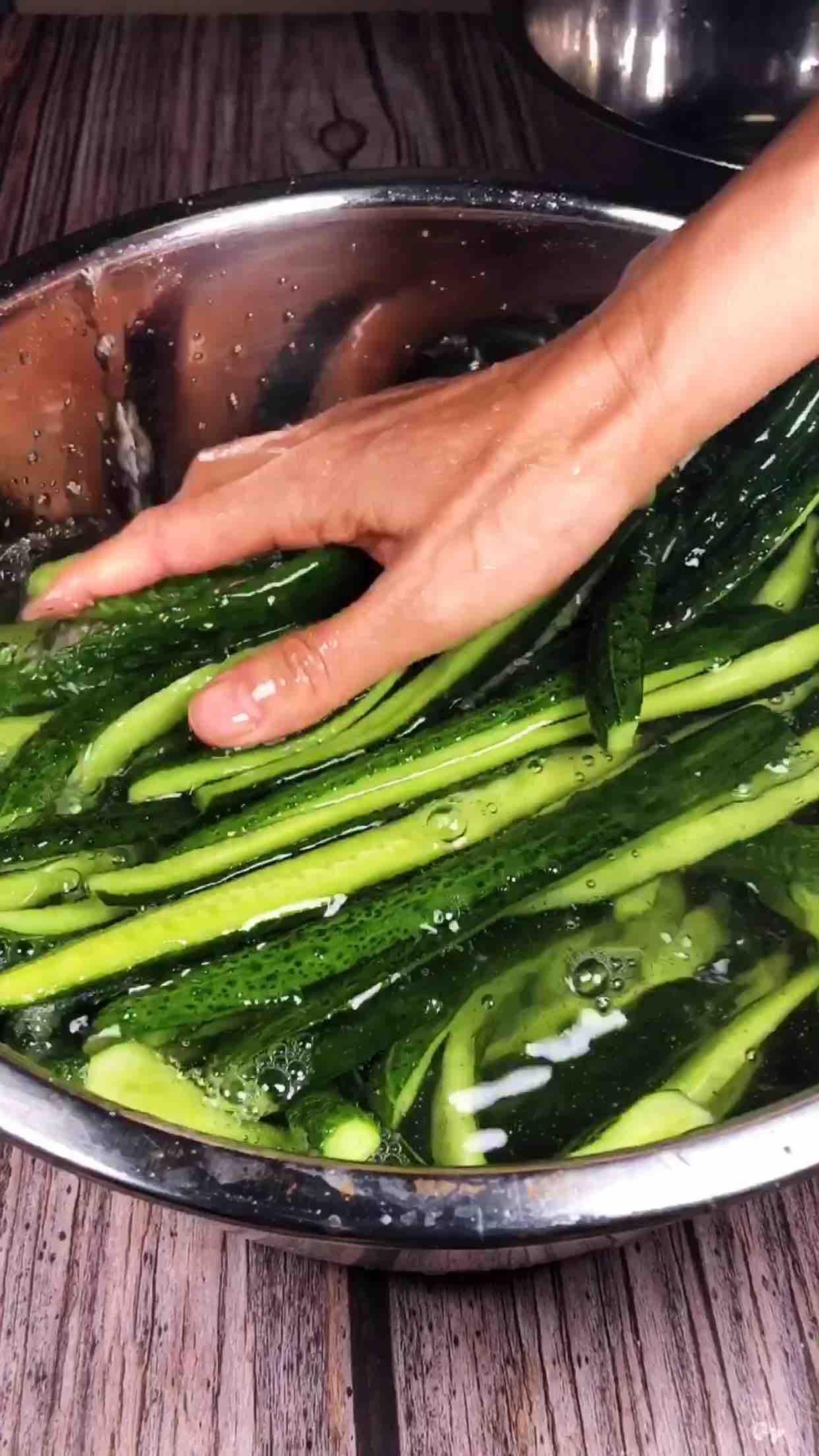 脆腌黄瓜的家常做法