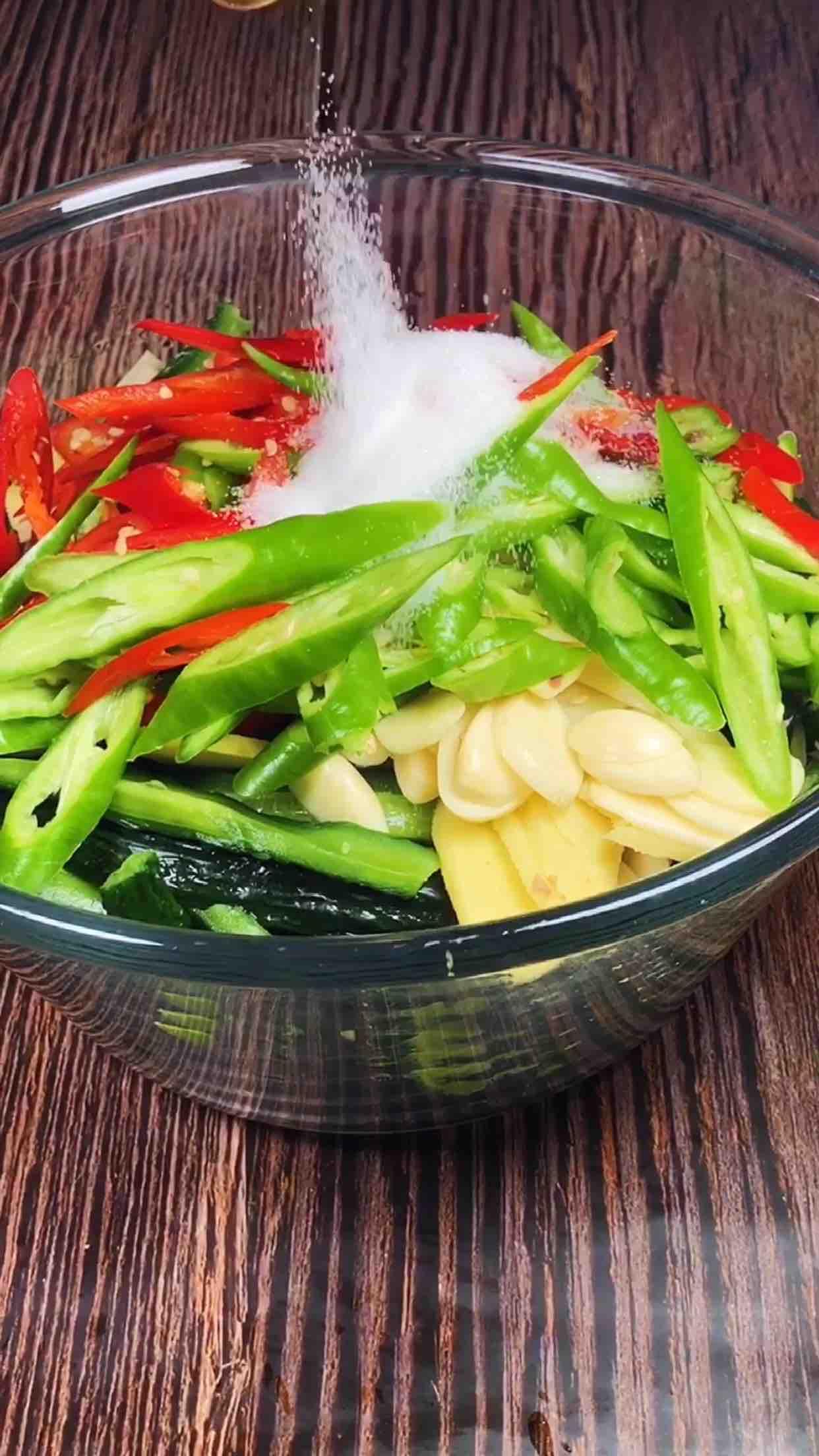脆腌黄瓜怎样做