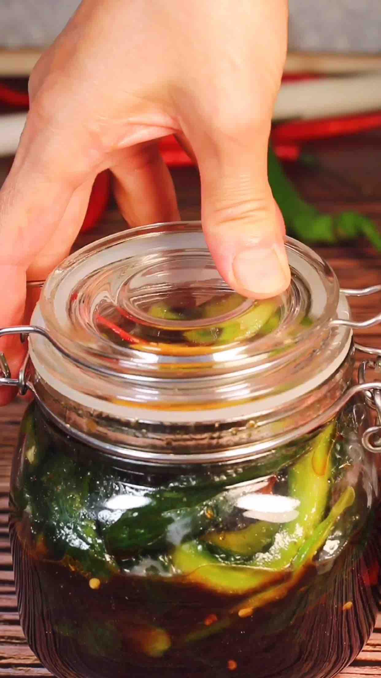 脆腌黄瓜的制作