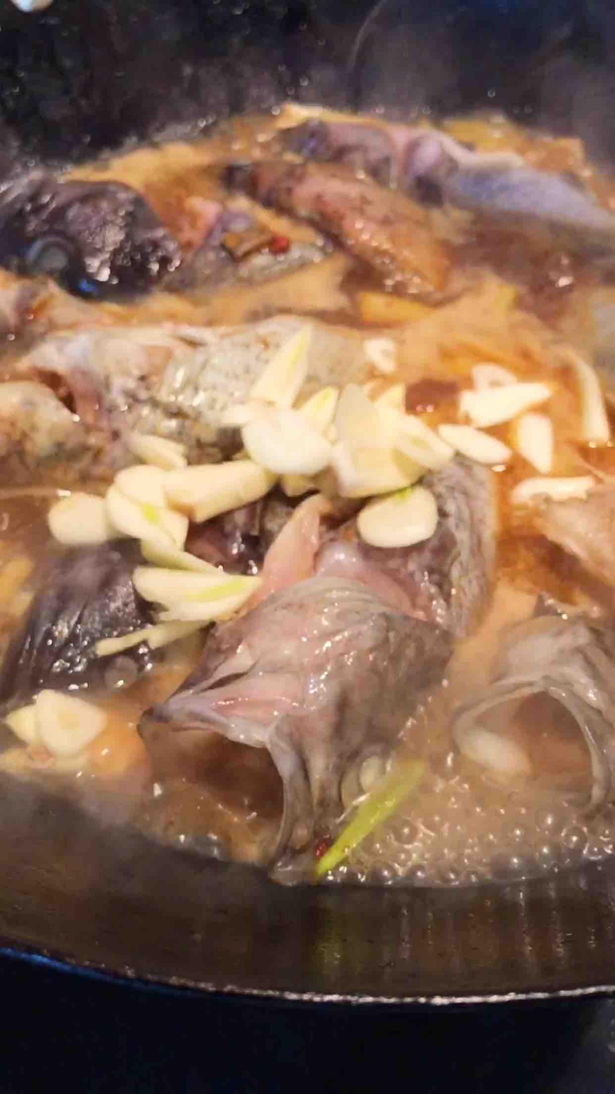 海鱼炖豆腐怎么炒