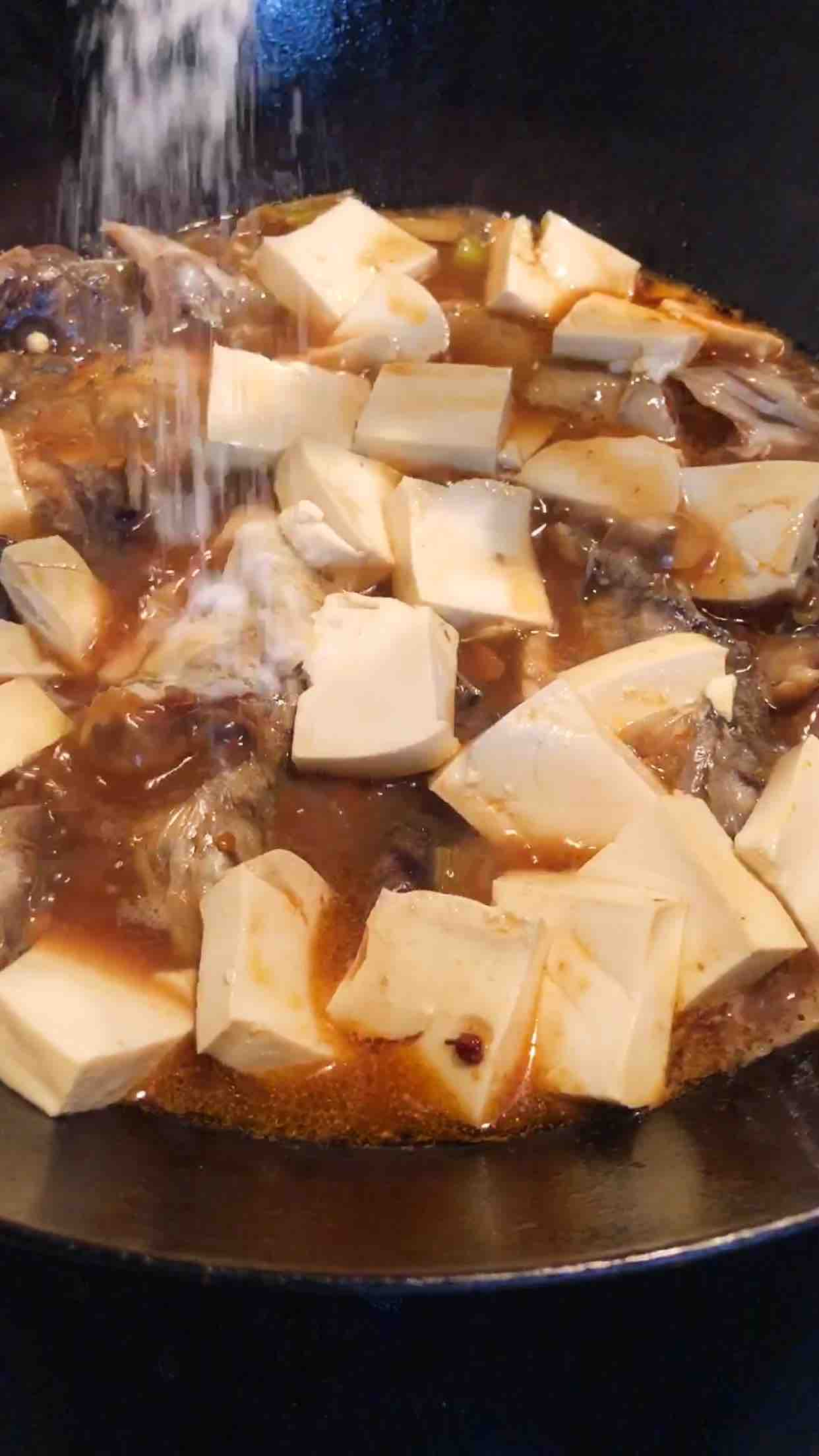 海鱼炖豆腐怎么炖