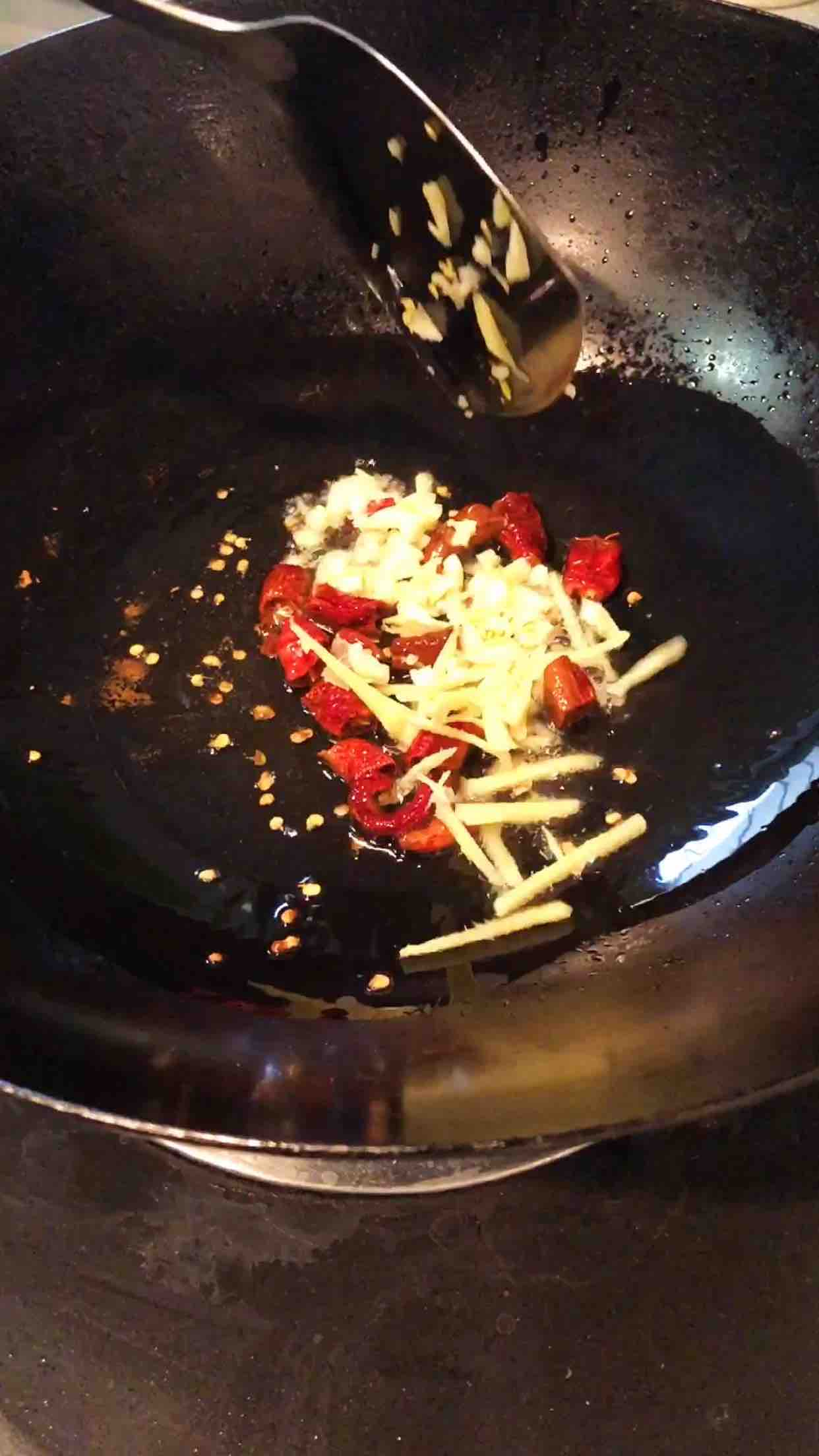 萝卜丝虾的家常做法