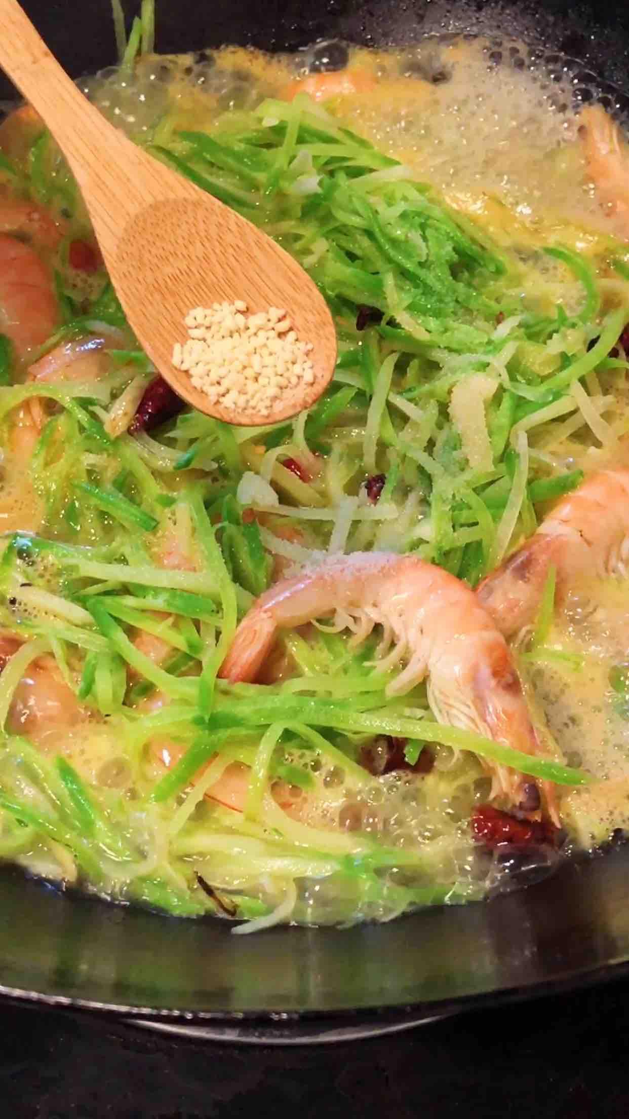 萝卜丝虾怎么煮
