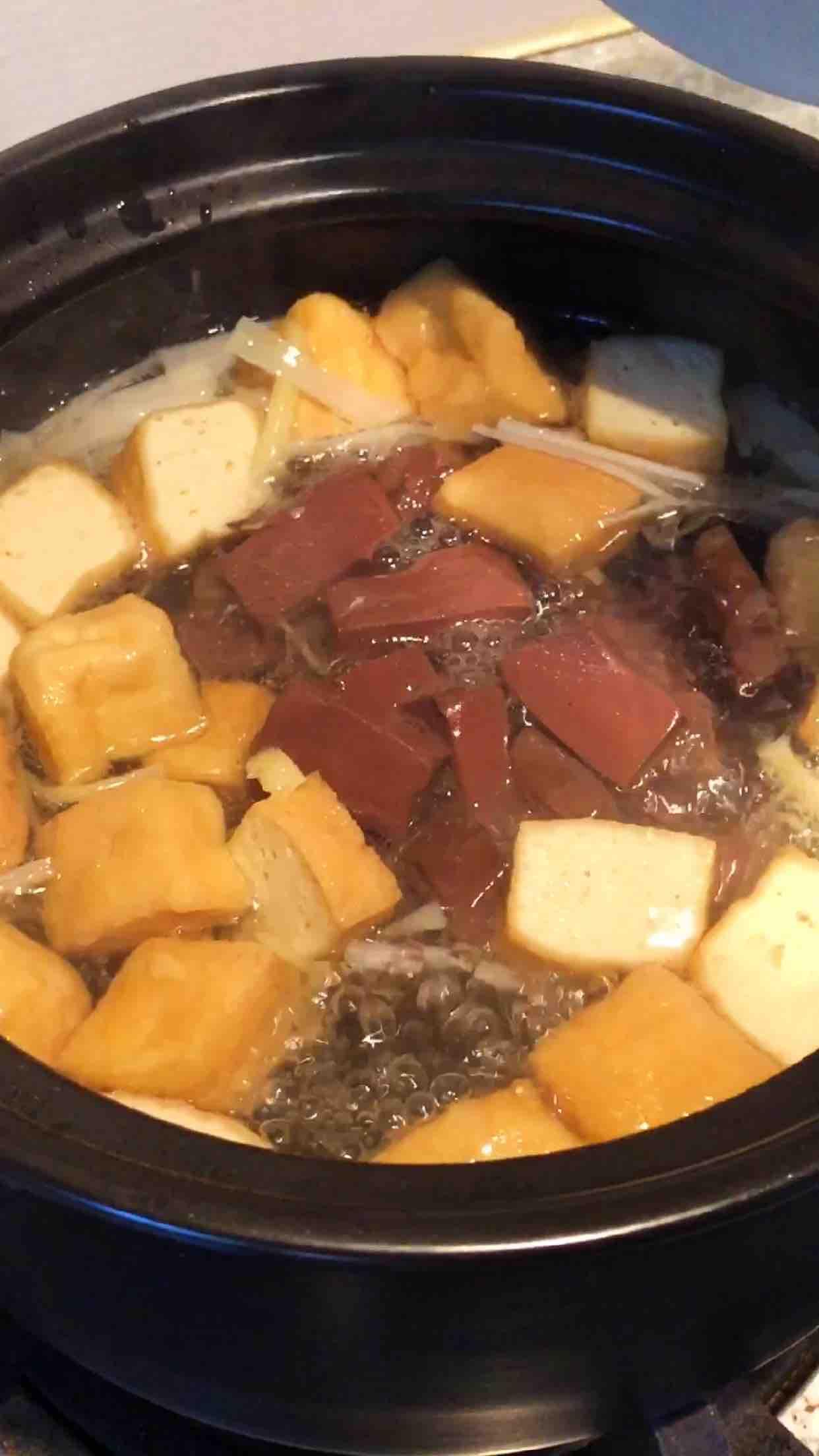 鸭血粉丝汤怎么煮