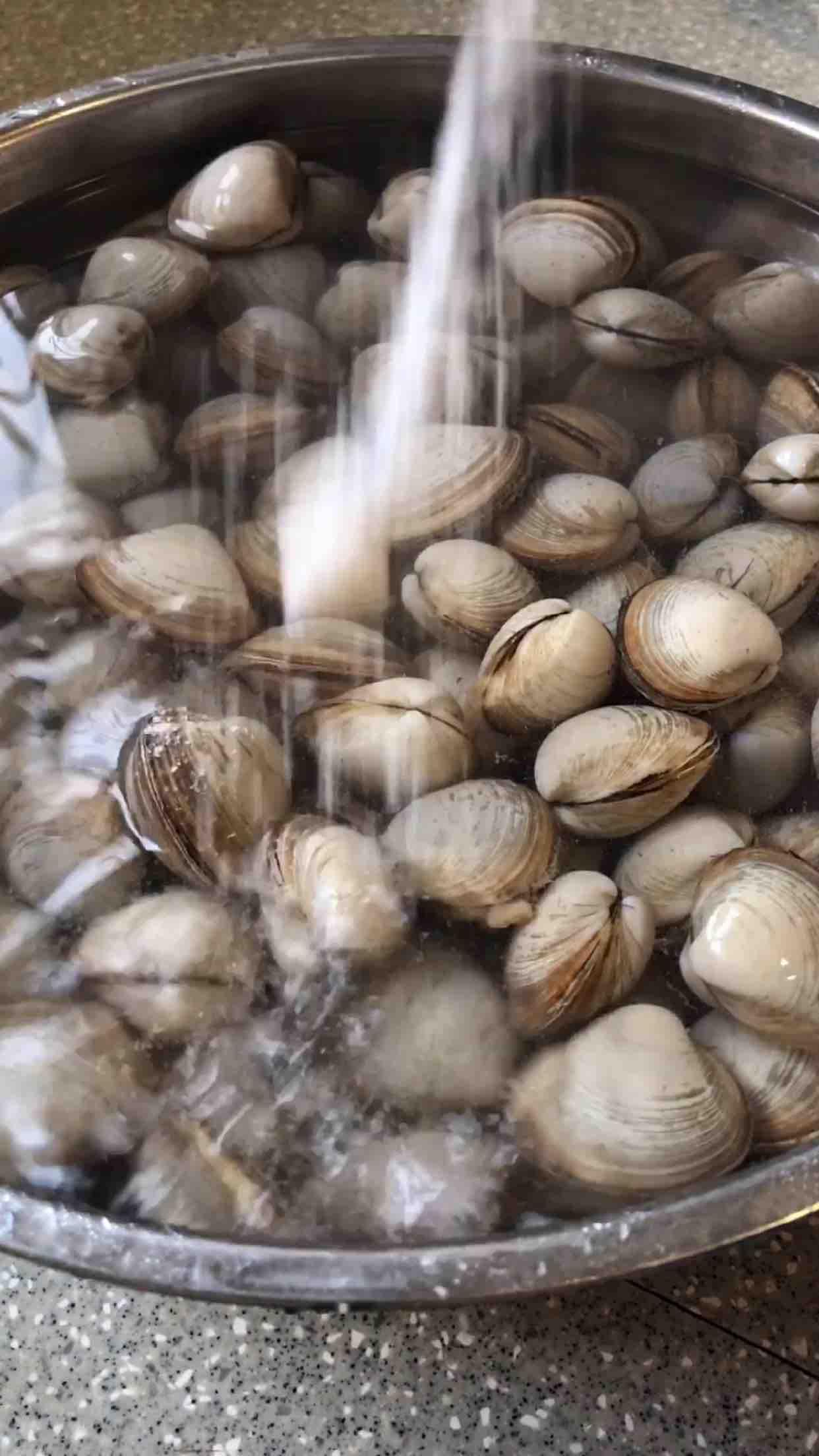 蛤蜊的正确清洗方法的做法大全