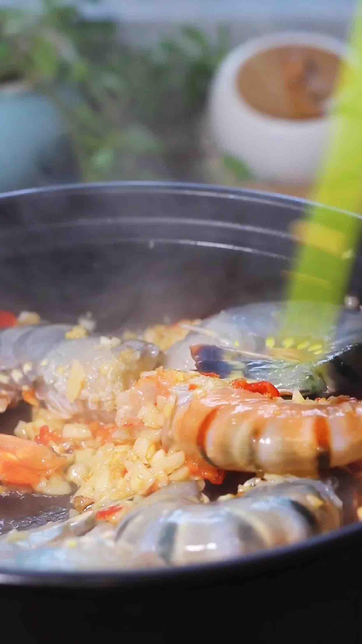 大虾粉丝煲的简单做法
