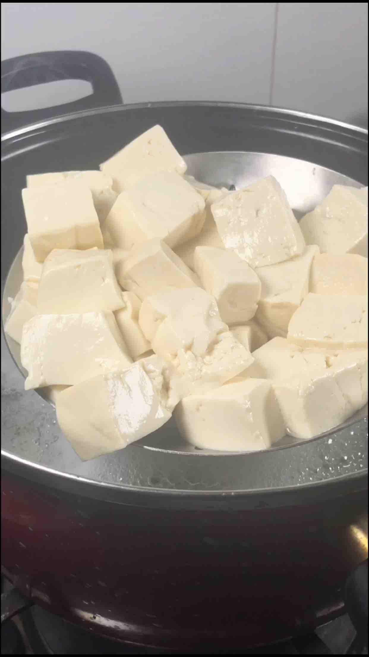 川味肉沫豆腐的家常做法