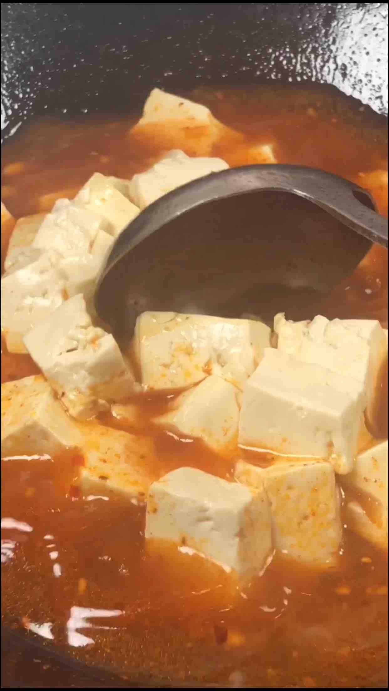 川味肉沫豆腐怎样炒