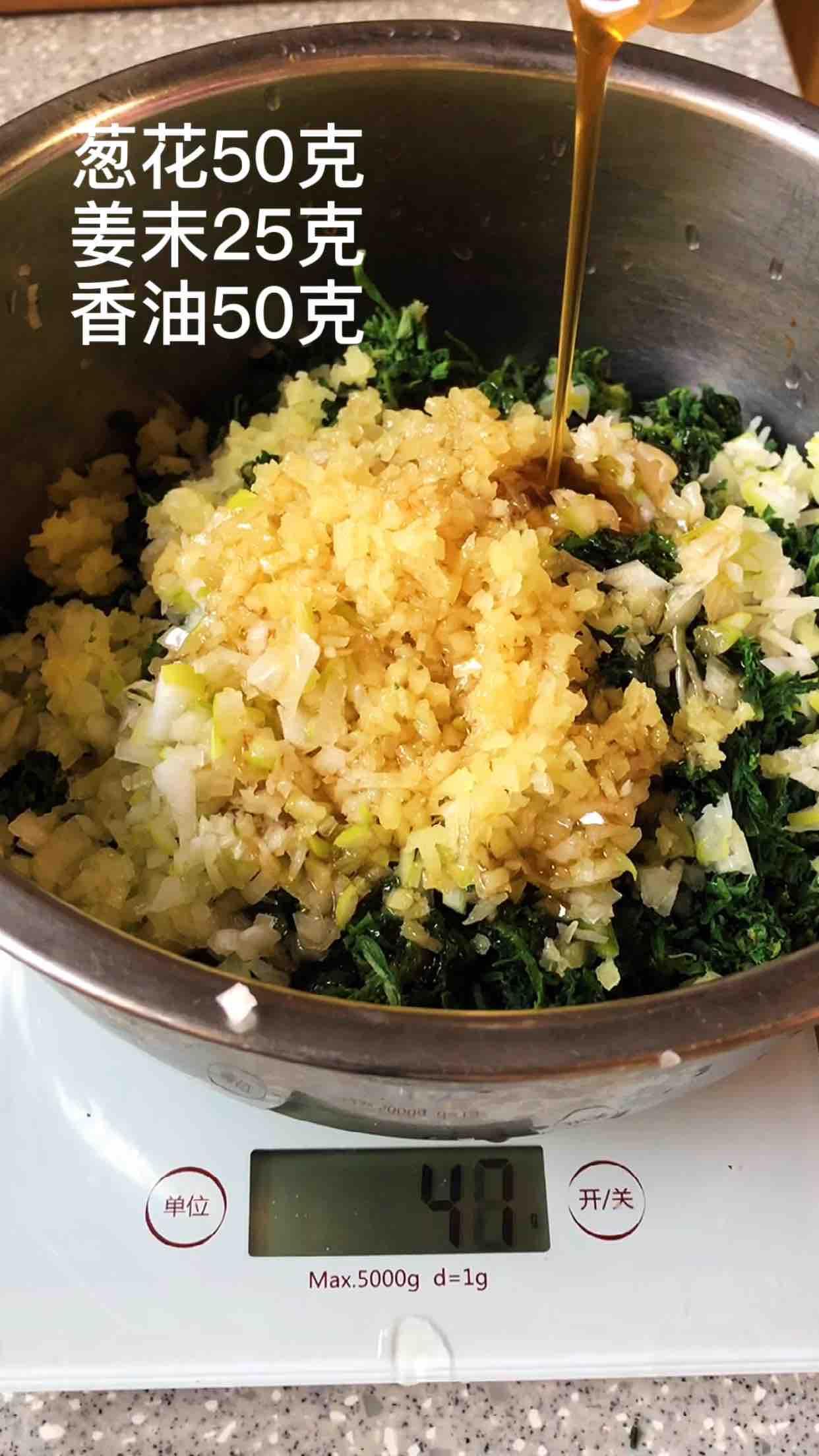 荠菜饺子怎么做