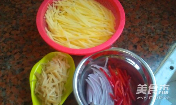 土豆丝卷饼的简单做法