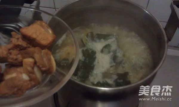 菜干排骨粥怎么煮