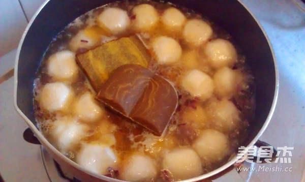 咖喱鱼蛋怎么吃