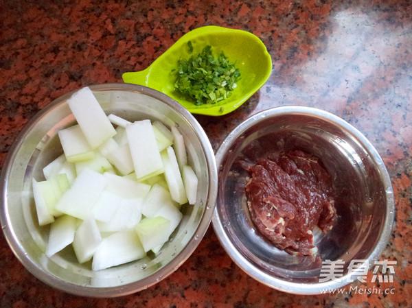 牛肉冬瓜汤的做法图解