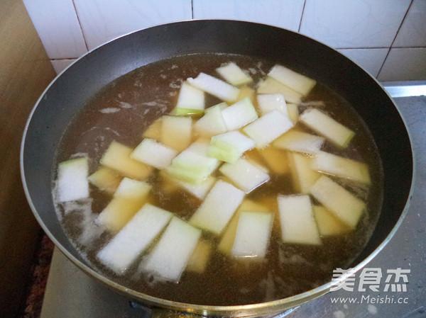 牛肉冬瓜汤怎么吃