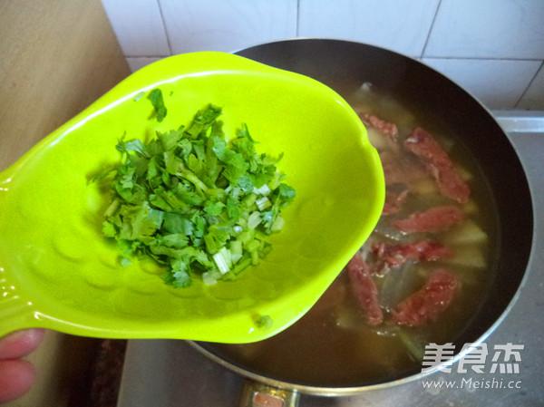 牛肉冬瓜汤怎么煮